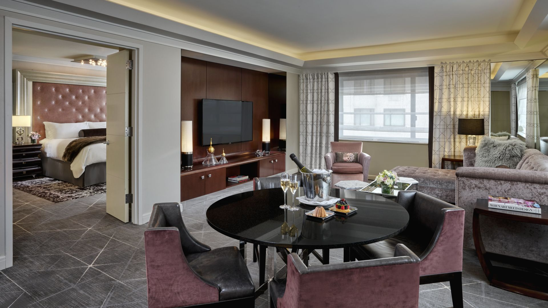 Suite Glamour | Loews Regency New York Hotel