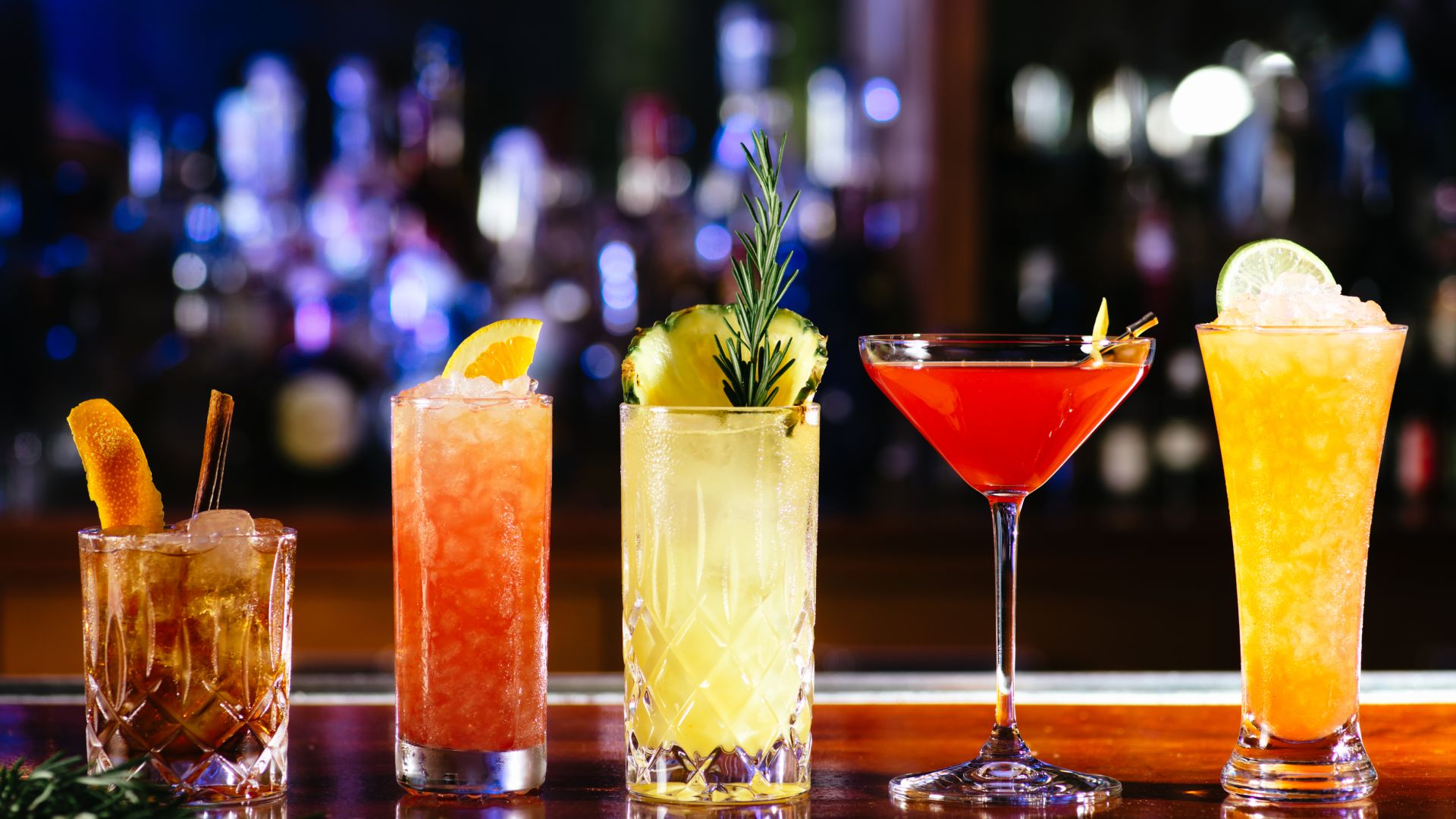 Grouping of Signature Cocktails