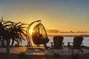 Puesta del sol en la bahía con Loews Coronado Bay Resort