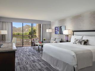 King con vista a las montañas deTucson | Loews Ventana Canyon Resort