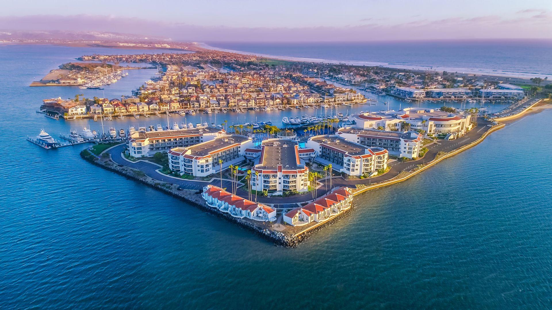Vista aérea de Loews Coronado Bay Resort