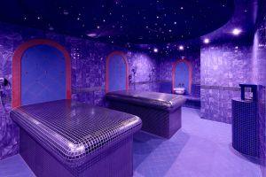 Una habitación azul